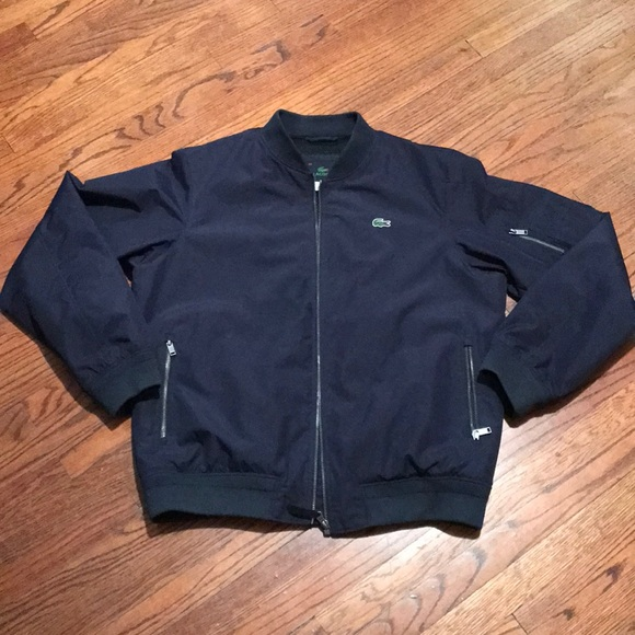 Lacoste Other - Lacoste lightweight fall bomber style jacket